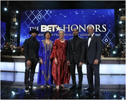 Usher Raymond, Phylicia Rashad, Johnnetta B. Cole, Kanye West and John W. Thompson; BET Honors 2015 honorees   Photo Credit: amsterdamnews. com