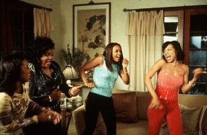 """Vivica Fox, Mo'nique, Wendy Raquel Robinson, and Tamala Jones in """"Two Can Play That Game"""" Photo Credit: trends.gelo.xyz"""