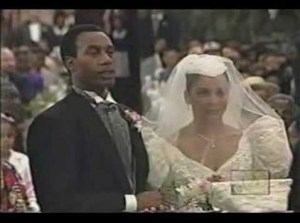 Whitley and Senator Byron' s wedding. (Photo credit: NewsOne)