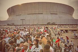 Hurricane Katrina's 10 year anniversary is here and the people that sat at the Superdome for days were victims. They were called refugees and we ignored them, as a nation.