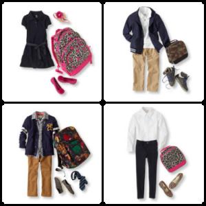 back to School Clothing, School Clothing, School Fashion, Fashion on a Budget