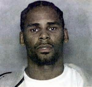 R. Kelly Mug Shot from Sexual Misconduct with a minor