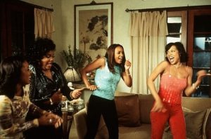 "Vivica Fox, Mo'nique, Wendy Raquel Robinson, and Tamala Jones in ""Two Can Play That Game"" Photo Credit: trends.gelo.xyz"